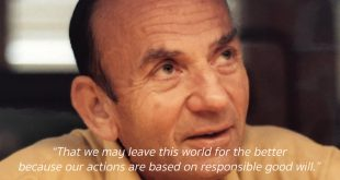 Documentary Honoring a Generous Supporter: The Legacy of Joseph A. Strasser
